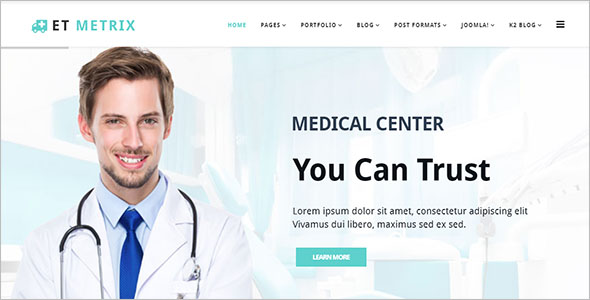 Creative Medical Joomla Theme