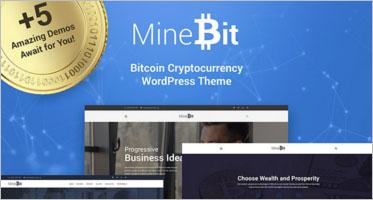 Free & Premium Cryptocurrency WordPress Themes