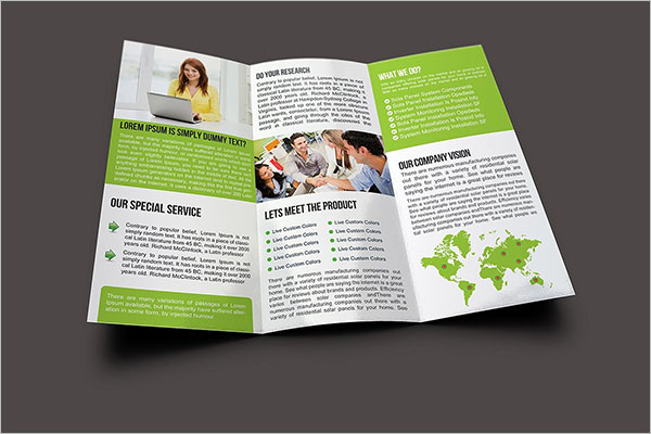 Customizable Brochure Template