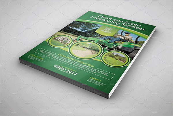 Customizable Lawn Care Flyer Design