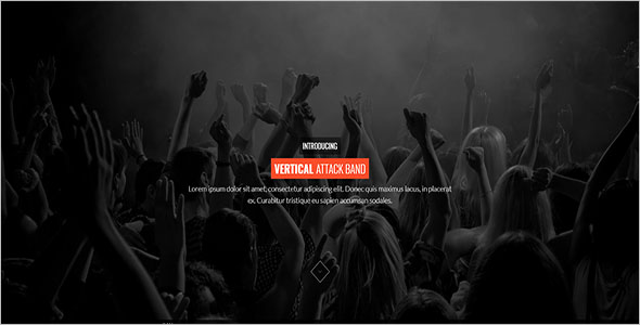 DJ & Music Bootstrap Template