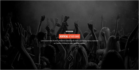 DJ & Music Bootstrap Template