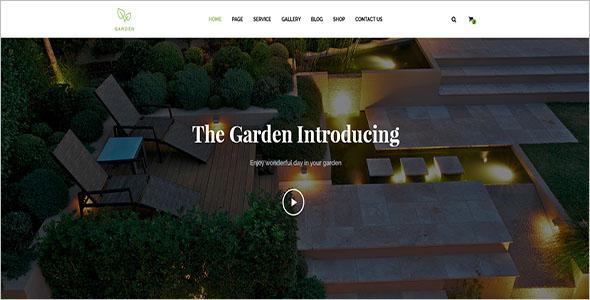 Diy Landscaping Blog Template