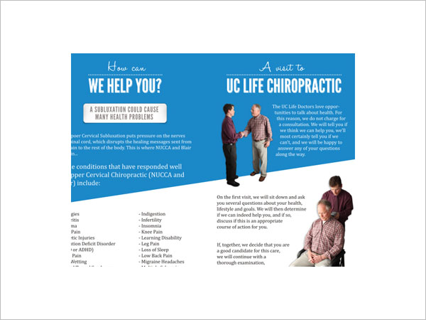 Download Chiropractic Brochure Template
