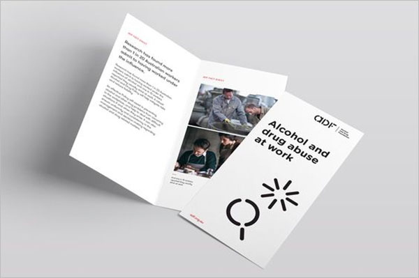 Drug Awareness Brochure Template