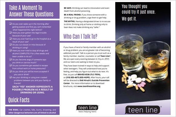 Drug Brochure Template Download