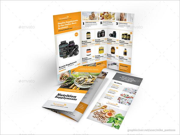 Drug Information Brochure Template