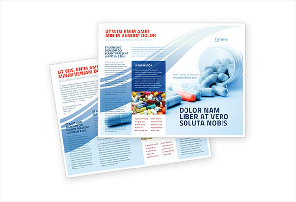 Drug Therapy Brochure Template