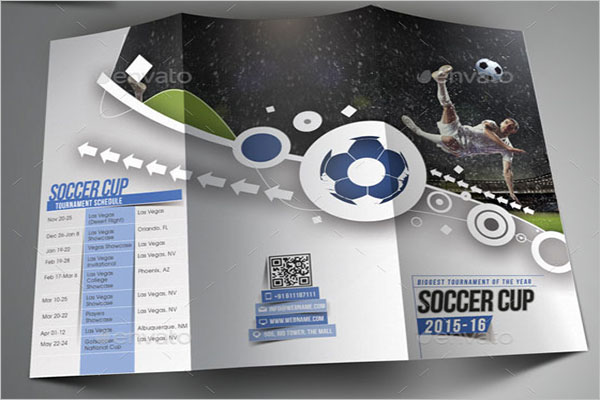 Editable Basketball Brochure Template