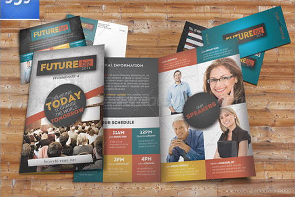Editable Conference Brochure Template