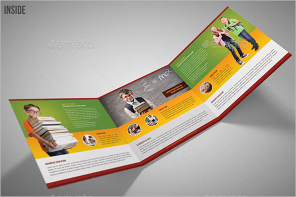 Editable Graduation Brochure Template