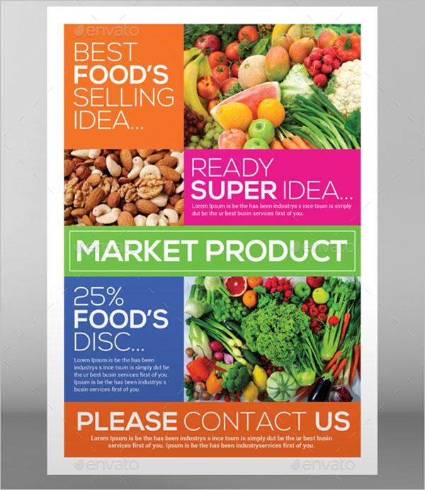 Editable Grocery Flyer Template