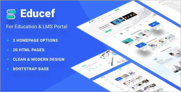 Education Portal Website Template