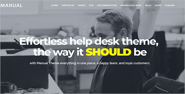 Effective Knowledge Base WordPress Theme