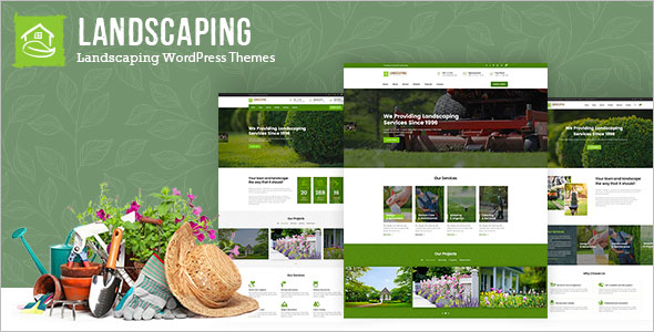Elegant Landscaping WordPress Theme