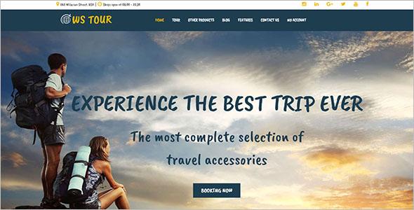 ElegantTour & Travel Site Template