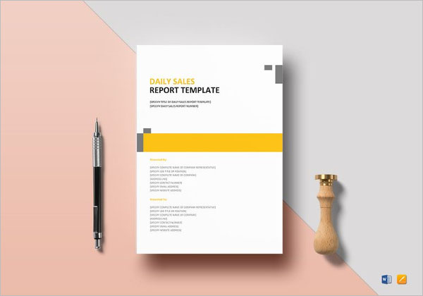 Employee Production Report Template
