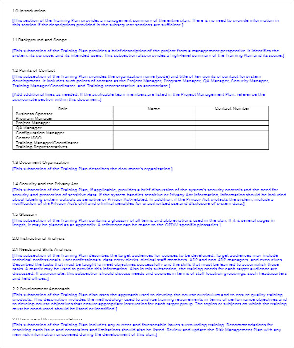 21+ Training Strategy Templates Free PPT, PDF, DOC Sample Formats