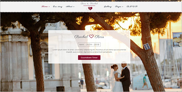 Engagement Landing Page Template