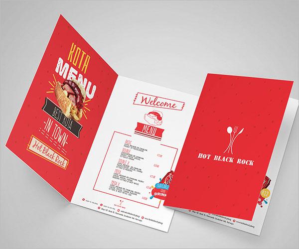 Example For Half Fold Brochure