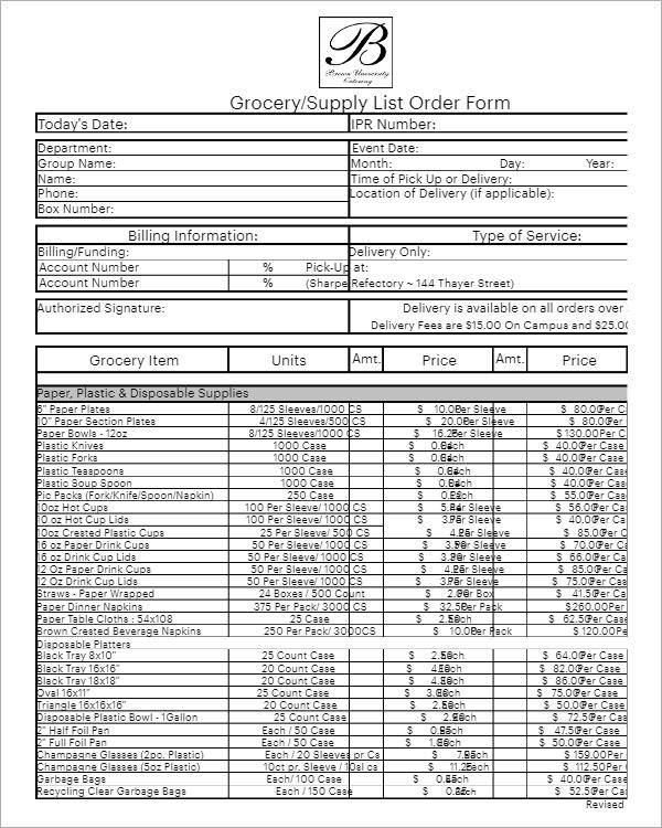 Excel Sales Order Format