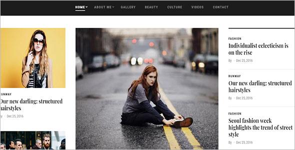 Fashion Blog Drupal Theme