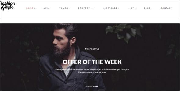 Fashion Blog Woocommerce Theme