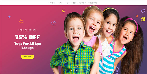 Fashion Kids Magento Theme