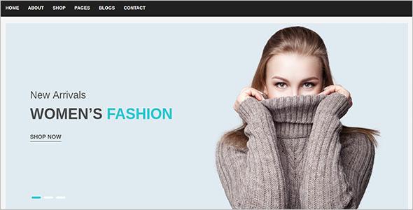 FashionWebsite Template