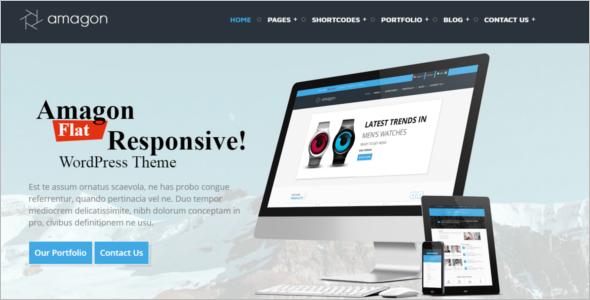 Flat Multipurpose Website Template