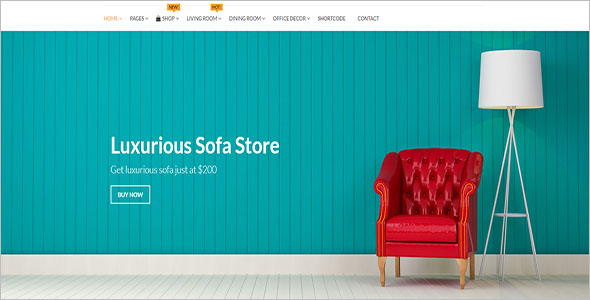 Flat Woocommerce Template For Furniture