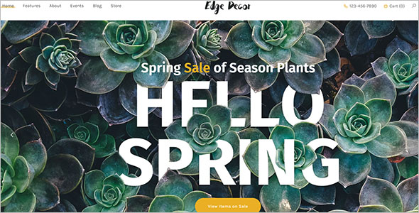Flexible Landscaping WordPress Theme