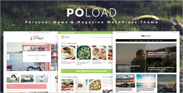 Food Blog Design WordPress