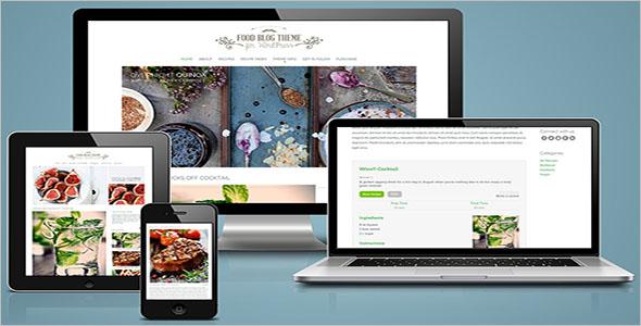 Food Blog Theme for WordPress