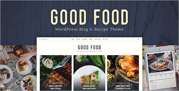 Food Blog WP Theme