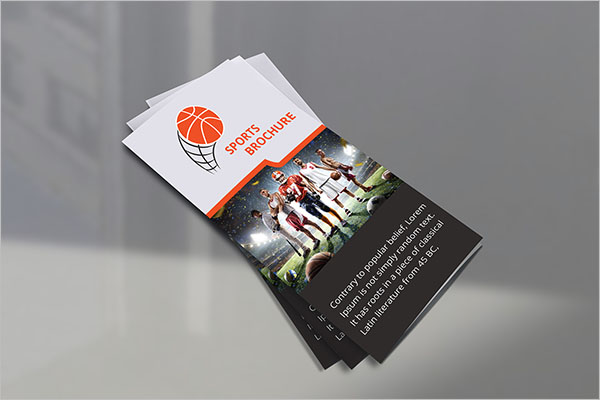Free Basketball Brochure Template