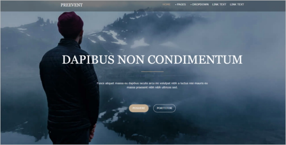 Free Bootstrap jQuery Template