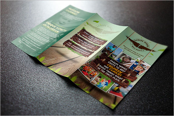 Free Camp Brochure Template
