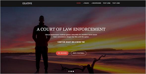 Free HTML Blog Website Template