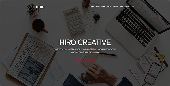Free Latest Website Template
