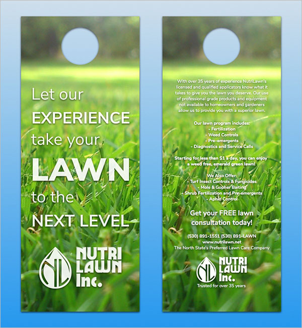 lawn care flyer templates free psd  word  pdf
