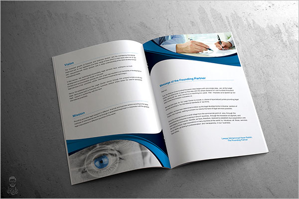Free Legal Brochure Size Template