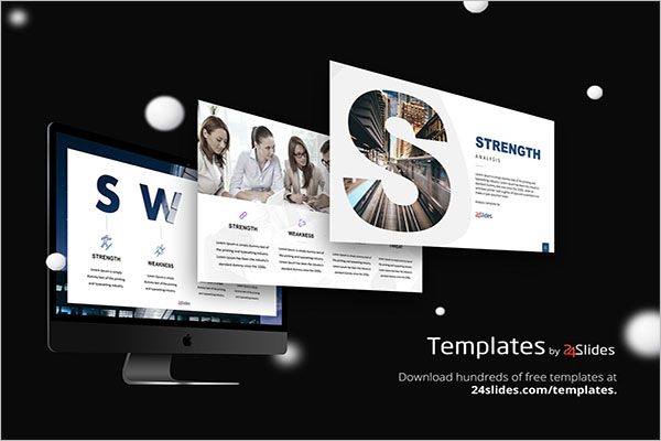 Free SWOT Analysis PowerPoint Template
