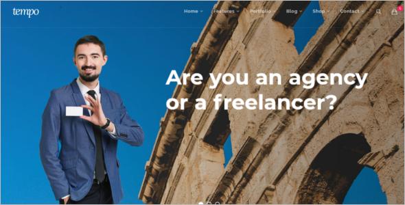Freelancer Bootstrap Template