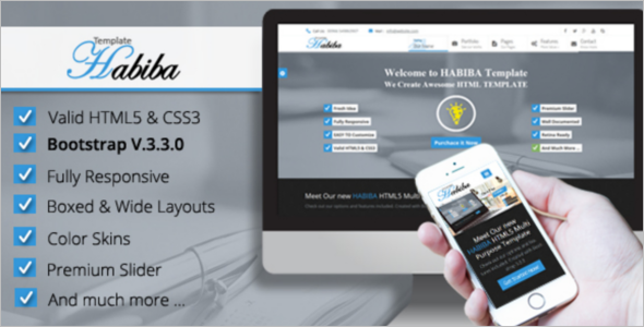 Fully Responsive Bootstrap Theme