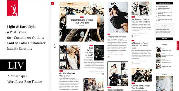 Fully responsive Newspaper WordPress Theme