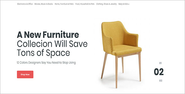 Furniture Business Open Cart Theme