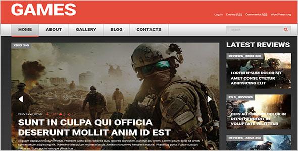 Game Portal Responsive PHP Theme