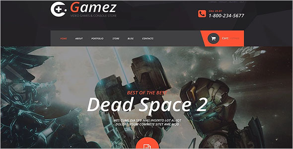 Games PHP Template