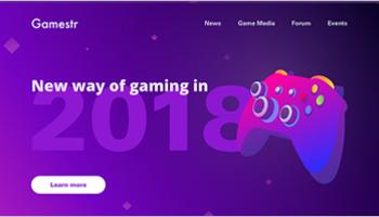 Gaming Landing Page Templates